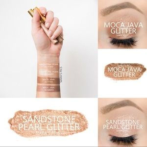 Moca Java and Sandstone Pearl GLITTER ShadowSense